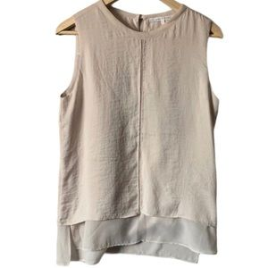 | VIOLET + CLAIRE | Sleeveless layered blouse